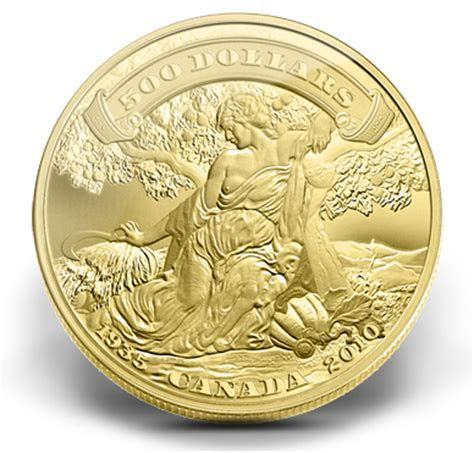 5 Ounce Gold Coin   75th Anniversary of the First Bank