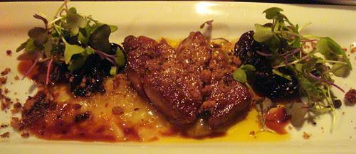 Foie Gras w Rhubarb & Gingerbread @ West