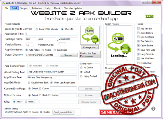 Website 2 APK Builder PRO v2.2 Cracked - Crackit Indonesia