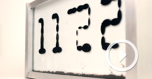 Ferrolic: A Clock with a Liquid Face Powered by Magnetism
