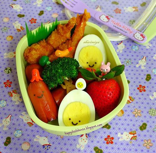 Bentobuddies Ebi Fry Bento by sherimiya ♥