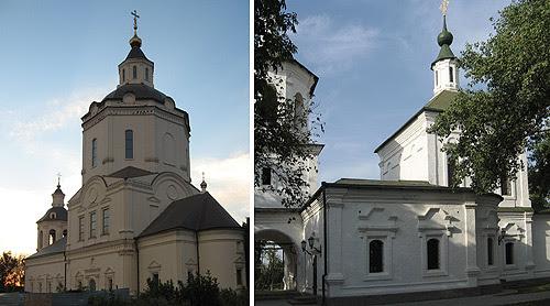 Преображенская и Петропавловская церкви в Старочеркасской