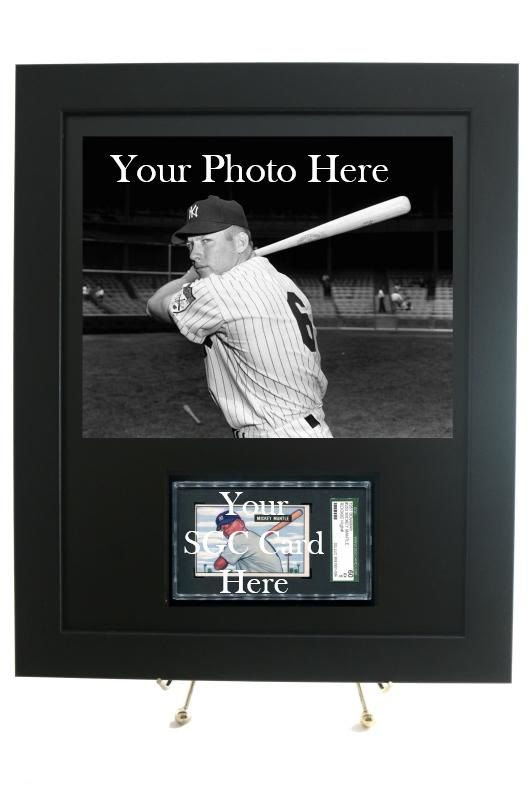 Sports Card Frame For Your Sgc Graded Horizontal Card With An 8 X 10 H
