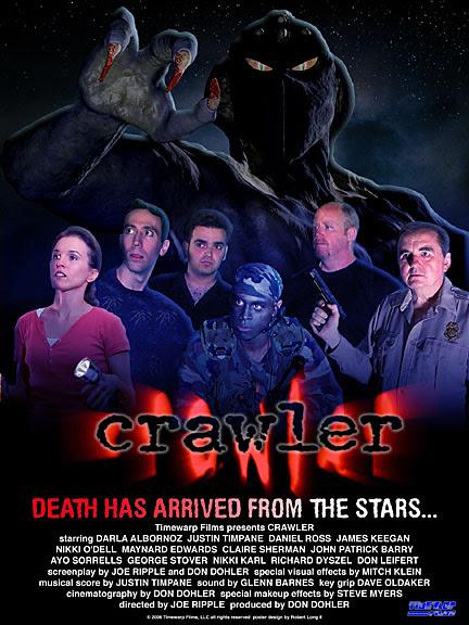 Crawler Poster Darla Albornoz, Justin Timpane, Mike Keegan, Daniel Ross, George Stover, Joe Ripple, Mitch Klein, Don Dohler
