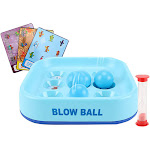 Outtop Improve Focus Training Game Blow Ball Funny Game Toy