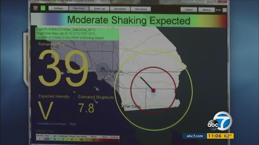 Trump proposal would cut funding for earthquake early warning system |