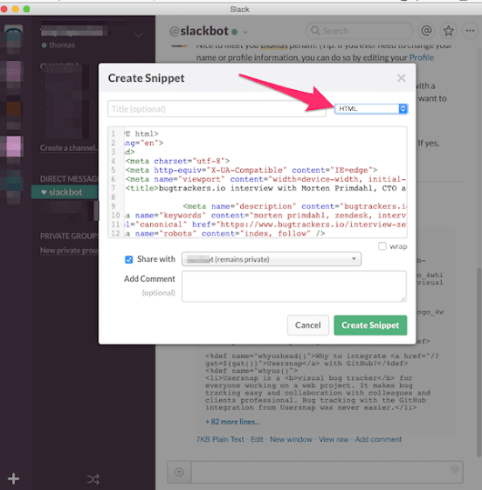 Slack Everything: How to boost your web development with Slack