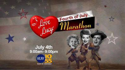 WLNY-TV I Love Lucy 4th of July Marathon