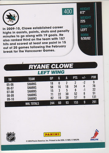 Score - Ryan Clowe back