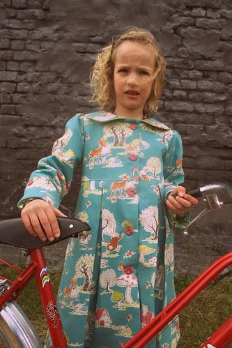 Nieuwe jas en nieuwe fiets