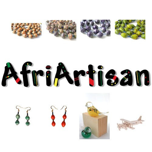 Ornaments, Wood Craft, Glass Works, Toys and Jewelry by AfriArtisan