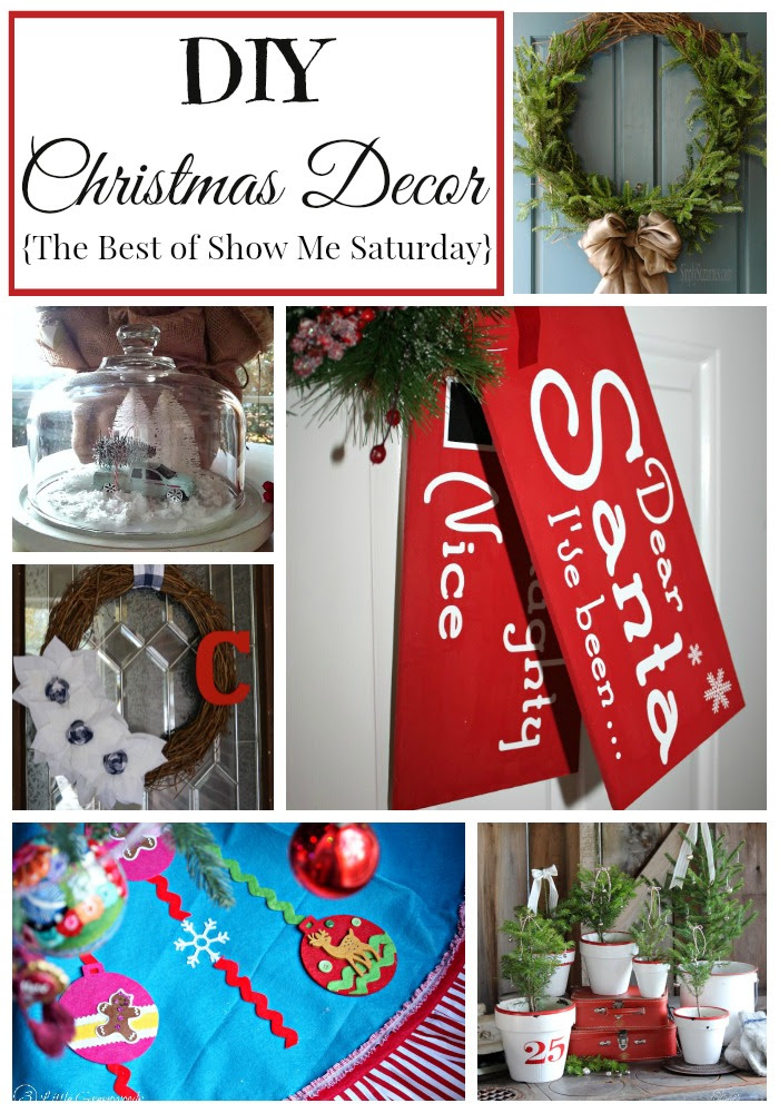 DIY Christmas Decor {Best of Show Me Saturday}