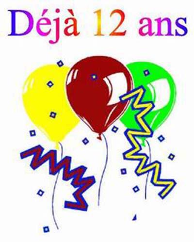 Carte A Imprimer Joyeux Anniversaire 12 Ans Wizzyloremaria Official
