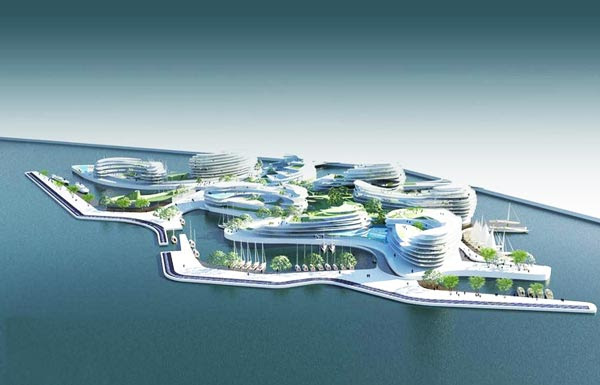 perierga.gr - Τα πλωτά ξενοδοχεία του Κατάρ!