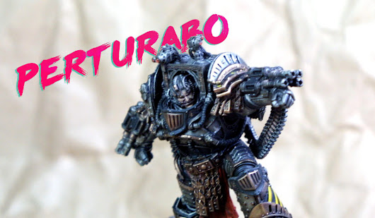 Showcase: Perturabo of the Iron Warriors - Paint Water Diaries