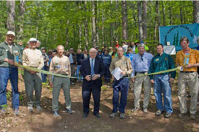 Trail Opening Grand Traverse Hikers
