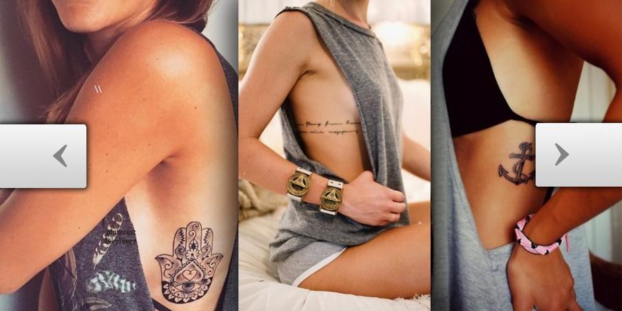 Tattooscom Hot Rib Cage Tattoo Ideas For Women