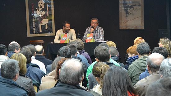 El propio autor, Juan Jiménez Mancha, se quedó sorprendido por la magnífica acogida que ha tenido su obra. (© Foto: A. LUQUERO / Vallecasweb.com)