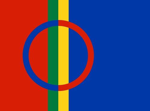 Sámi flag by christopher.forster, on Flickr