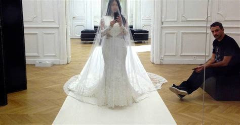 Kim Kardashian Wedding Dress Cost a Whooping Half a