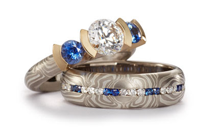 Fashion Rings with Stones - George Sawyer