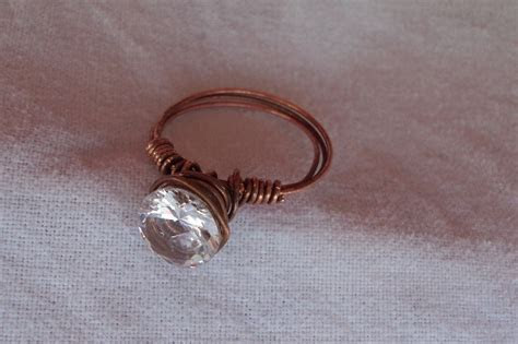 Copper Wedding Ring · A Wire Ring · Jewelry on Cut Out