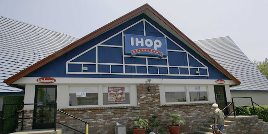 IHOP just changed its logo for the first time in decades