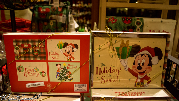 Disneyland Resort, Disney California Adventure, Buena Vista Street, Julius Kats and Sons, Vintage, Retro, Christmas, Mickey Mouse, Minnie Mouse, Tinker Bell, Tink, Merchandise, Christmas Time