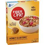 Fiber One Honey Clusters Cereal - 14.25 oz box