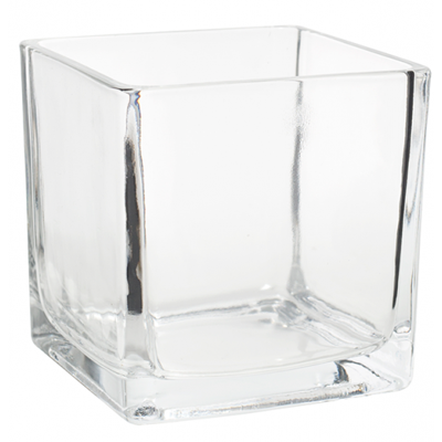 Cube Vase 4x4 Available For Weddings, Events & DIY Brides