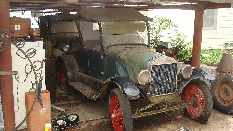 Model T Ford Forum: Barn find stuff