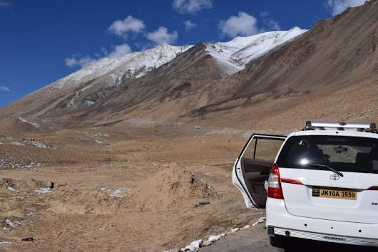 Roadtrip to Chang La from Pangong