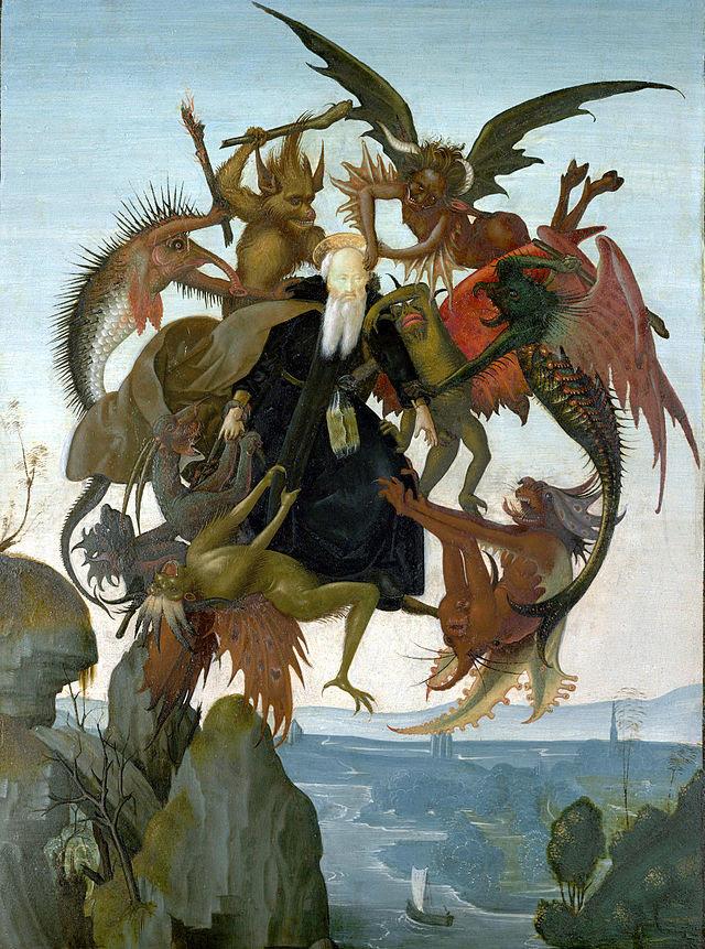 Resultado de imagem para a tentação de santo antão