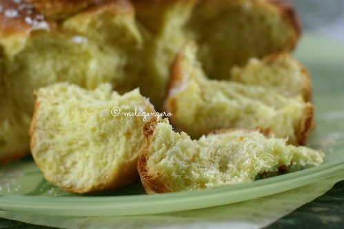 Brioche fiorita (brioche celtica o brioche bouclettes)