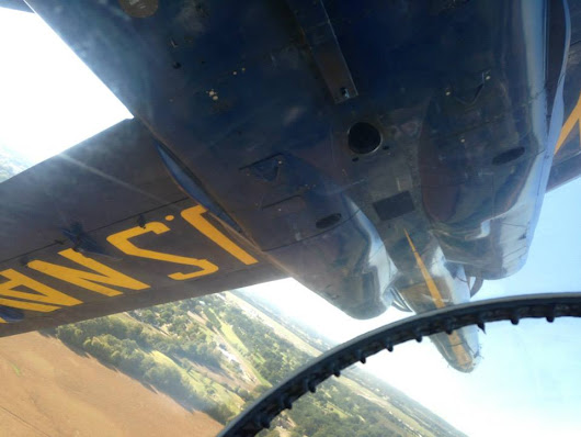 Ride Report: My Flight in Blue Angels #2