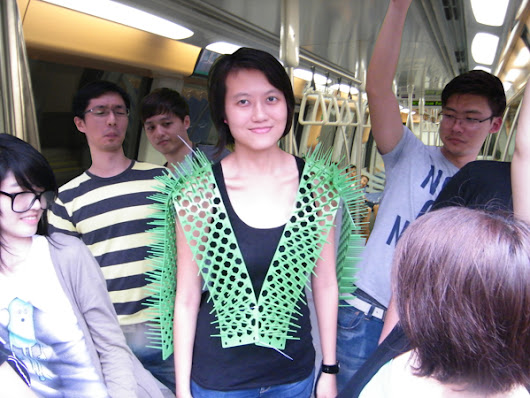 Spike Away, A Vest That Helps Protect Your Personal Space in Public
