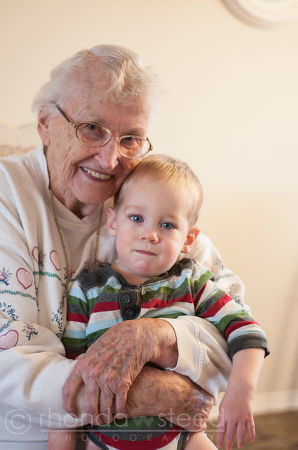 Our year in Photos: Great Grandma