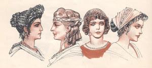frisuren von frauen im alten rom | trendige kurzhaarfrisuren