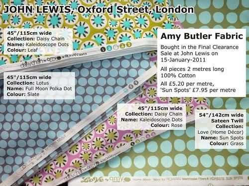 Amy Butler, Cotton Fabrics
