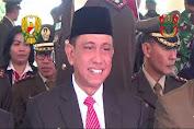 BUPATI WAJO HADIRI HUT TNI KE 74 DI BONE
