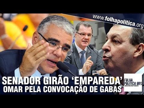 Senador Girão empareda Omar Aziz pela convocação de Gabas na CPI para apurar corrupção