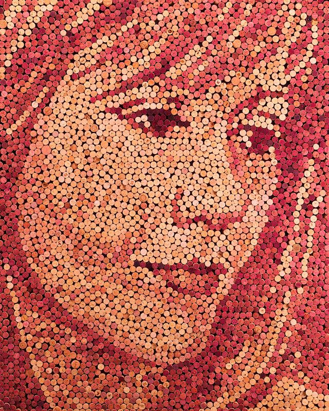 Wine Cork Portraits by Scott Gundersen wine portraits cork
