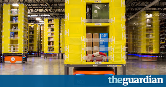 Amazon to create 1,200 jobs with new Bolton warehouse | Technology | The Guardian