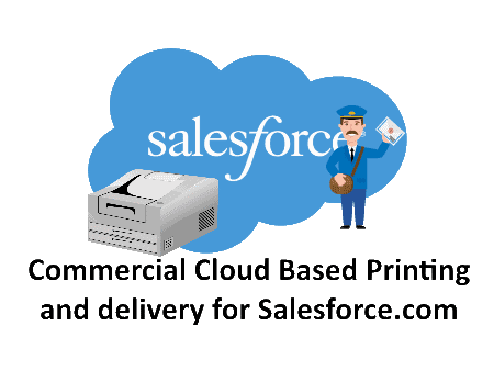 Cloud Printing and Mail from Salesforce.com