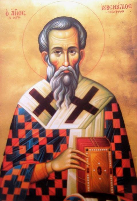 img ST. JUVENAL of Jerusalem, Patriarch