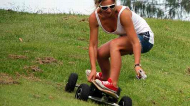 Australian Blokes Build Impressive Off Road Skateboard