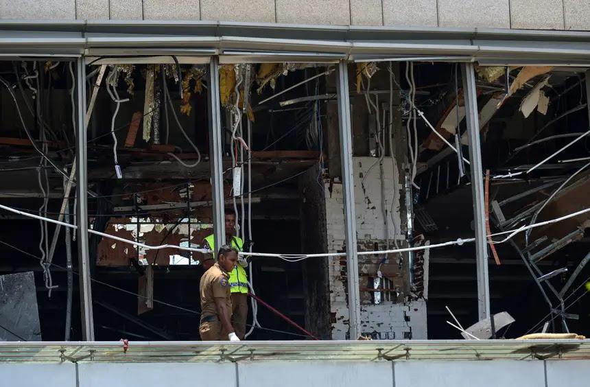 Resultado de imagem para Um português entre os 156 mortos em seis explosões no Sri Lanka