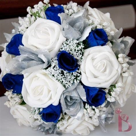 I like this one. Disney blue and silver wedding colors