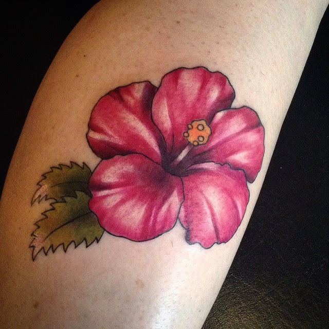 75 Best Hibiscus Flower Tattoo Meaning Designs Art Of Nature 2018