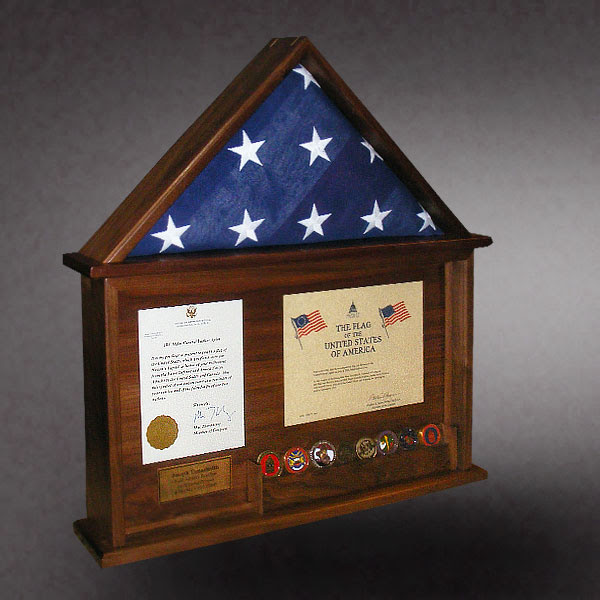 Flag Display Cases Greg Seitz Woodworking